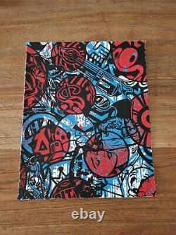 Speedy Graphito Lithography Signed Dated 25x20cm No Jonone C215 Cup2 Sean