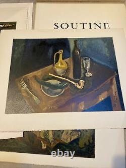 Superb Portfolio Lithographs Chaim Soutine