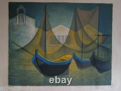 Toffoli Louis Lithography Signed Au Crayon Num/150 Handsigned Numb Lithograph