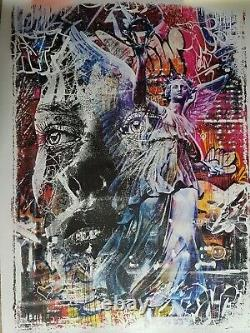 Triumph Vhils - Pichiavo Signed, Numeroted - Certified