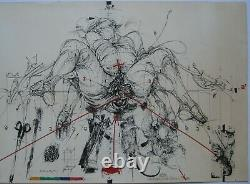 Velickovic Lithography 75 Signed In Pencil Num/190 Handsigned Numb Lithograph