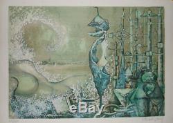 Venice Is A Woman Lithograph Patrick Brissaud