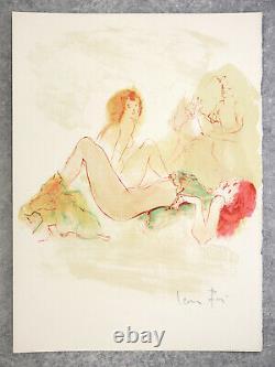 Verlaine. At The Same Time. 15 Original Lithographs De Leonor Fini, 12 Signes