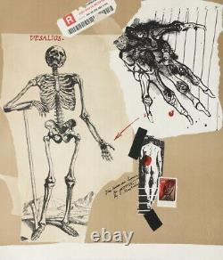 Very Beautiful Original Lithograph Vladimir Velickovic
