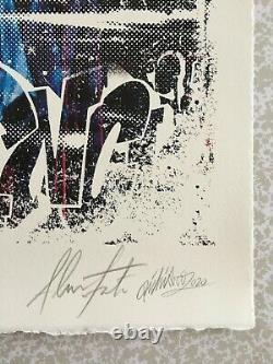 Vhils - Pichiavo Triumph Signed And Numbered Lithography Xx/300