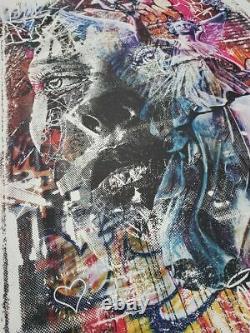 Vhils - Pichiavo Triumph Street Art (banksy, Obey, Jonone, Koons)