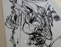 Vladimir Velickovic Original Signed And Numbered Lithography