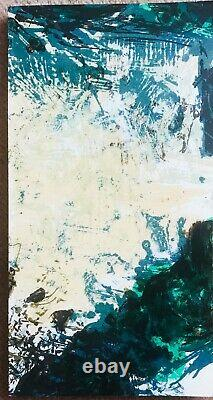 Zao Wou-ki Original 1982-signed And Numbered Lithograph By Artist