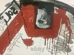 (fluxus) Wolf Vostell The Cri Portfolio Of 10 Signed Color Lithographs