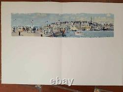 8 Planches MARIN-MARIE Livre Or Yachting, Grands Coureurs Plaisancier 1957