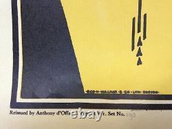 AUBREY BEARDSLEY (XIXe) ART NOUVEAU AFFICHE LITHOGRAPHIEE ORIGINALE NUMEROTEE