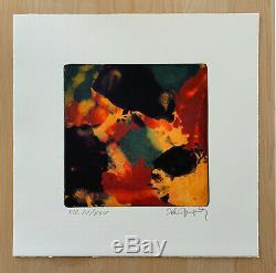 Alain JACQUET / Hand signed and numbered Lithograph print