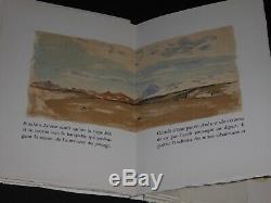 Albert Camus La Femme Adultere Lithographies Clairin Edition Originale N° Signee