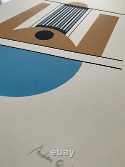 Arden Quin, Signé Main, Litho 5/50, 38x56cm, Estampe En Bon État