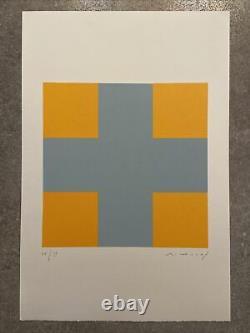 Aurélie NEMOURS, Signé Main, Litho 26/99, 38,5x56cm, Estampe En Bon État