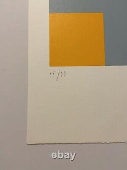 Aurélie NEMOURS, Signé Main, Litho 38/99, 38,5x56cm, Estampe En Bon État