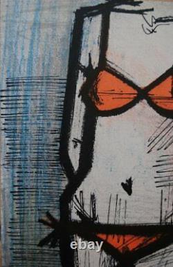 BUFFET Bernard le Bikini LITHOGRAPHIE originale signée, 1967 par MOURLOT