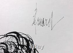 Bernard BUFFET Rosa GRAVURE signée #1961 #197ex