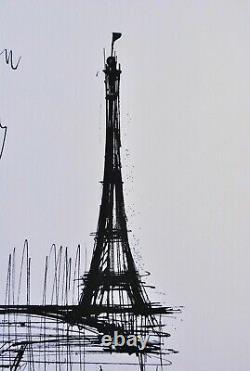 Bernard BUFFET Ton Paris GRAVURE signée, 1961, 197ex