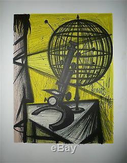 Bernard Buffet affiche en Lithogaphie Signée 1968 les peintres témoins Galliera