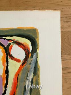 Bram Van Velde Hand signed and numbered lithograph 1970