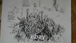 Dado belle et grande litho 53/100 signée au crayon et datée 69
