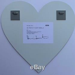 Damien Hirst Butterfly Heart HENI H7-4 Signed Numbered Limited Edition Print