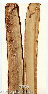 Debré Olivier Lithographie 1982 Monogrammée Au Crayon Handmonogrammed Lithograph