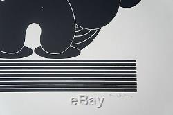 ERVIN NEUHAUS (1928/2012) COMPOSITION 1/30 Signé