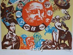 Erro Lithographie 1969 Signée Au Crayon Num/100 Handsigned Numb/100 Lithograph