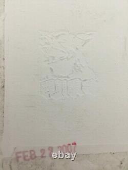 FAILE / Hand signed Silkscreen print and acrylic on wove paper