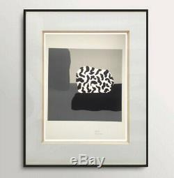 Fernand Dubuis (1908-1991) Rare Lithographie Originale Abstraction Signee (2)