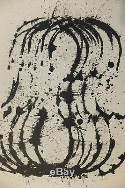 Fernandez Arman le traité du violon lithographie originale signé