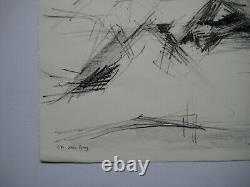 Fromanger Gerard Lithographie Nu Signée Au Crayon Ea Handsigned Ea Lithograph