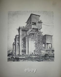GOBO Georges lithographie Originale signée numérotée