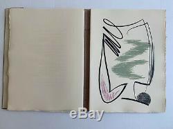 Gérard SCHNEIDER & Robert GANZO Langage (signé) / 12 Lithographies originales