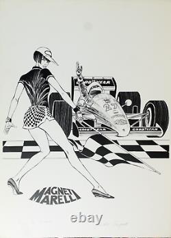 Guido Crepax Valentina Formula 1 50 x 70