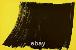 Hans HARTUNG Farandole XII, 1971 Lithographie originale signée au crayon