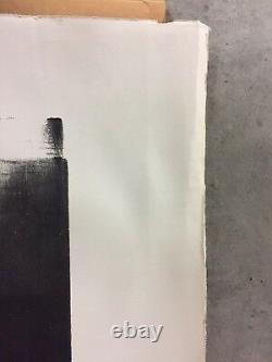 Hartung Hans lot de 2 Lithographies originales signées numérotées art abstrait