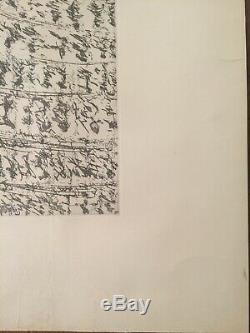 Henri Michaux Sans Titre lithographie signée et numérotée