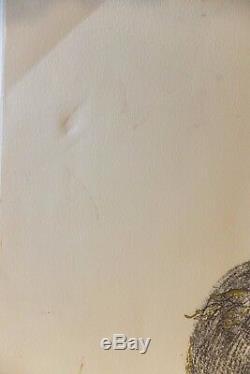 Hommage à Picasso Portrait par Salvador Dali Lithographie originale