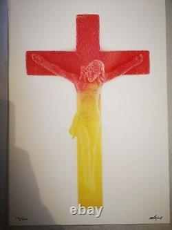 IMBUE Sweet Jesus Lithographie Signée et Numérotée au Crayon Brighton Banksy Art