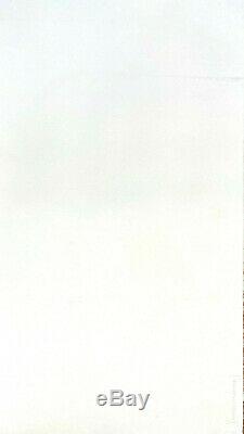 Idéogramme LIthographie Signée Fabienne Verdier 20 tirages ca1999