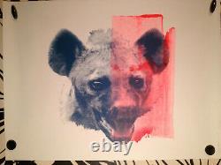 JAMES BAKER sérigraphiePortrait 118 sign-num/1/street-art/banksy/space invader
