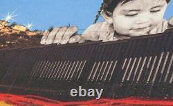 JR Lithographie GIANTS Kikito Signé, numéroté (/250), neuf, emballé