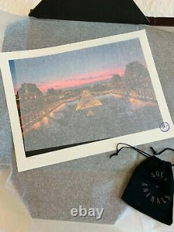 JR au Louvre 29 mars 19h45 / Signed and numbered Lithograph print Edition /250