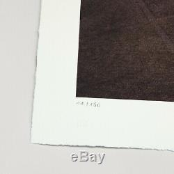 JR au Louvre Pyramide, Lithographie signée /180 no kaws banksy dior invader