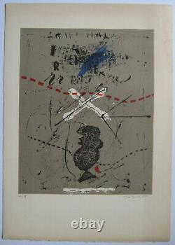 James Coignard Lithographie Signée Au Crayon Num/75 Handsigned Numb Lithograph