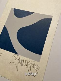 Jonone, Signé Main, Litho 14/15, 37x56cm, Estampe En Bon État Sur Papier De Riz