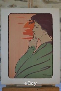 L'estampe moderne Silence Henri Meunier 1897
